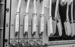 DSLAM equipment in the BT exchange