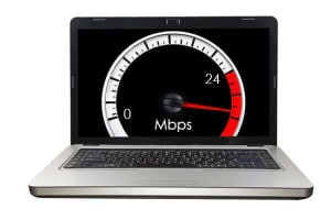 Speed test to improve broadband speed