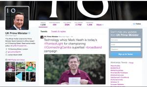 Prime Minister award to Mark Heath