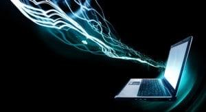 Image representing broadband speed