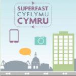 Logo for Superfast Cymru