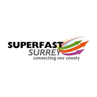 Logo for Superfast Surrey