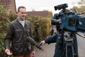Alastair Brydon is interviewed