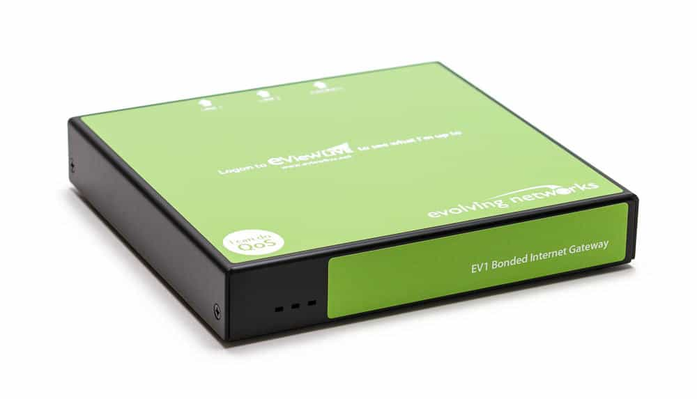 Bonded Internet Gateway from Evolving Networks