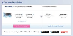 BT Broadband screenshot