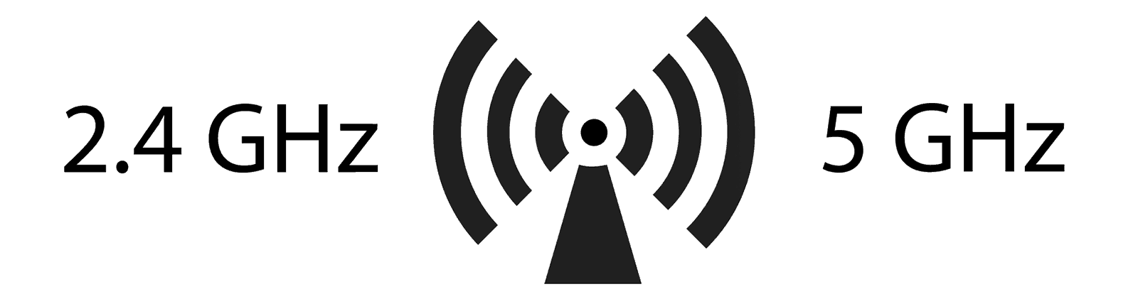 WiFi differences between 2.4GHz and 5GHz