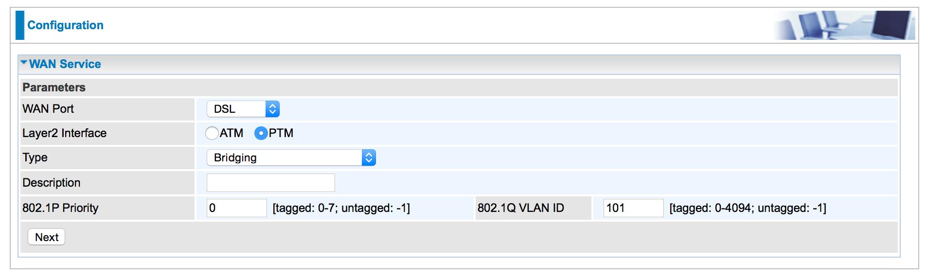 8800 WAN configuration