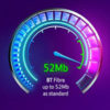 BT Increases the Top Speed of its BT Infinity 1 Service to 52 Mbps