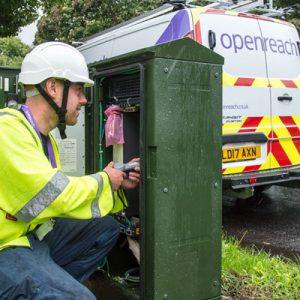 Openreach engineer