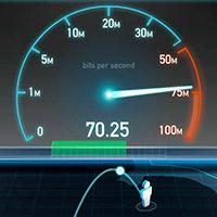 Speed test screenshot