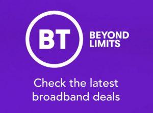 Broadband deals ad for BT