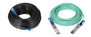 Copper and fibre cables