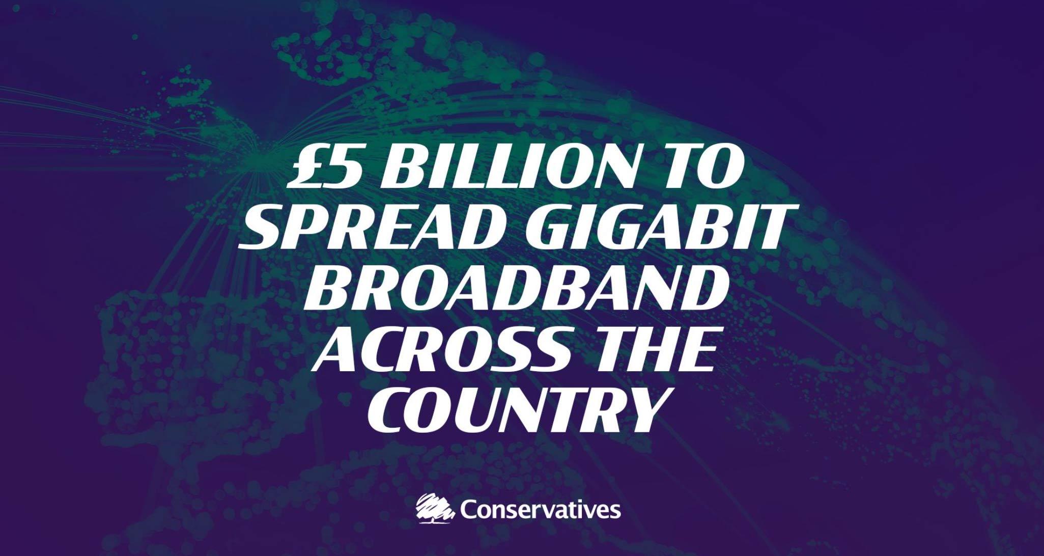 Election broadband pledge