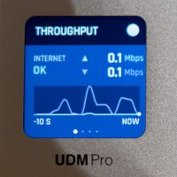 small lcd on UDM pro