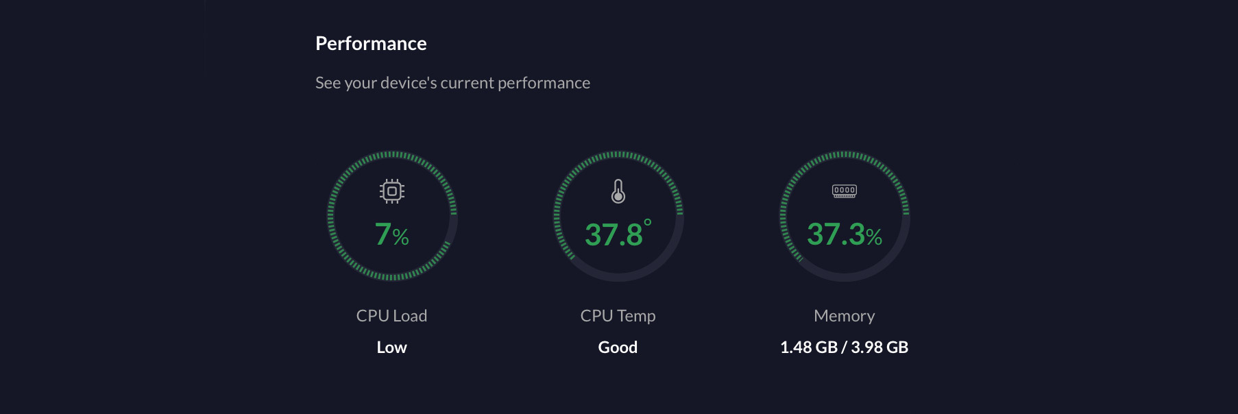 Performance stats with the UDM Pro